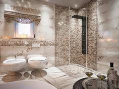 Картинки по запросу квадратная ванная комната с окном интерьер