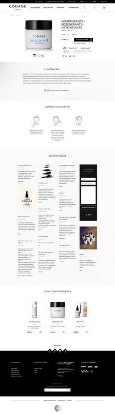 Web Design, Layout Design, Cv Ingenieur, Maquette Site Web, Product Page, Ui Inspiration, Ecommerce, Templates, Pattern