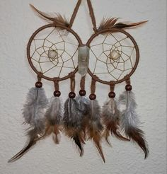 Hey, I found this really awesome Etsy listing at https://www.etsy.com/listing/218721121/owl-dream-catcher