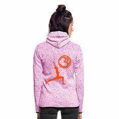 25% OFF nur Heute 30.11. Der Held Yoga Asana Krieger mit OM Symbol Coole Fleecejacke #yogamehappy