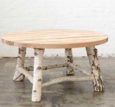 tree limb hinged table legs | Mark Tuckey, sustainable furniture, sustainable design, eco design