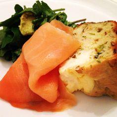 Food comida receta pan de puerro mascarpone cheese