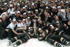 The Anaheim Ducks celebrate winning the Stanley Cup after defeating the Ottawa Senators.FIRST California team to win the Cup.