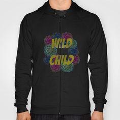 wild child - $42  Wild child, flowers, fashion, fashionista, gold, hoodies, amazing,