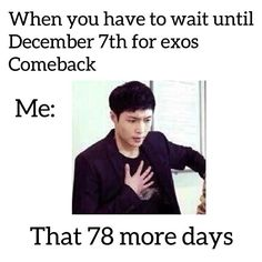 Yup Lay counting every single day