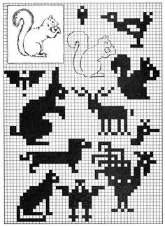 Pixel Art from 1930's