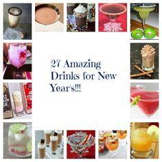 27 Amazing New Year's Drinks!