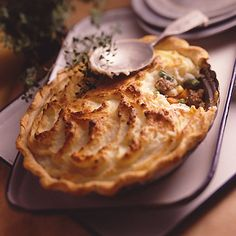 Simple Shepherd's Pie ~ This meat and potato pie is a version of an Irish classic recipe.