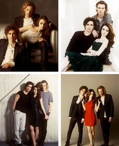 Lovely Photoshoot of the actors of The Mortal Instruments: City of Bones. I'm having flashbacks to the Twilight Saga, with the different photoshoots, the minor love triangle, etc. Robert Sheehan (to play Simon Lewis), Jamie Campbell Bower (to play Jace Wayland), and Lily Collins (to play Clary Fray) Part 3. This picture is actually of the different photo shoots so far with these three. My favorite pictures and shoot had to be the bottom left. I just thought it was so much more casual and…