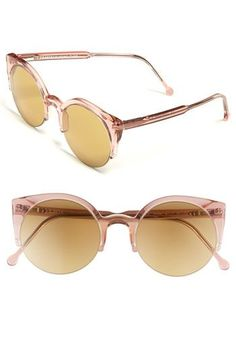 SUPER by RETROSUPERFUTURE® Pink 'Lucia' Sunglasses