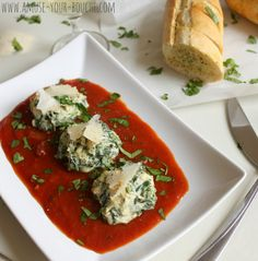 Spinach and ricotta dumplings - Amuse Your Bouche
