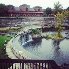 Train Tracks and a River Art Print Kent Ohio, Ohio Usa, We Built This City, Cuyahoga Falls, Riverside Park, Summer Bucket Lists, Train Tracks, City Streets, Staycation