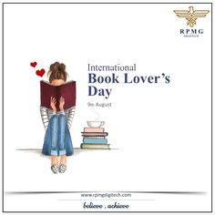 When you read a good book, something magical will definitely happen. Keep reading. Celebrate International Book Lover's Day and tell us what's your favourite book. It will be fun to know everyone's best read.  #BookLoversDay #RPMGDigitech