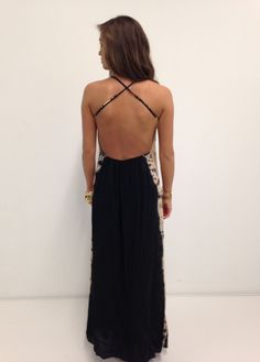 tie dye maxi dress #swoonboutique