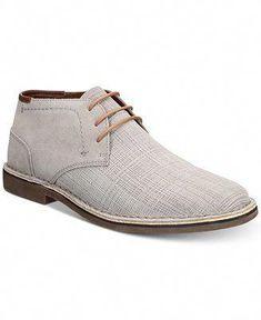 e98b2c473d97 Kenneth Cole Reaction Men s Desert Sun Textured Suede Chukka Boots - All Men s  Shoes - Men - Macy s