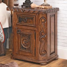 Southwest Bedroom, Nightstand, Westerns, Stars, Furniture, Home Decor, Decoration Home, Room Decor, Night Stand