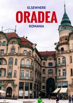Explore the fascinating architecture of Oradea, Romania via @travelsewhere