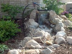 diy water features | Weekend DIY: Backyard Water Feature | Willard and May Outdoor Living ...