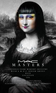 M·A·C Masters by Christopher Sauve, via Behance