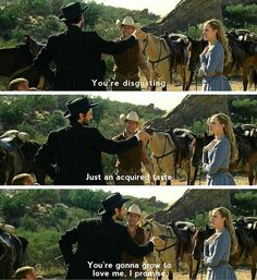 Logan, William and Dolores // Westworld
