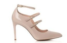Buty VISCONI Nude Lakier wz.7237 Mary Janes, Flats, Shoes, Fashion, Loafers & Slip Ons, Moda, Zapatos, Shoes Outlet, Fashion Styles
