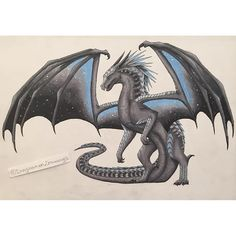 Wings of Fire Fan art Dragon Claw, Clay Dragon, Dragon Art, Magical Creatures, Fantasy Creatures, Beautiful Creatures, Wings Of Fire Dragons, Cool Dragons, Fantasy Dragon