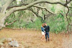 Emerald Green Engagement Photos: Jessica + Michael | Green Wedding Shoes Wedding Blog | Wedding Trends for Stylish + Creative Brides
