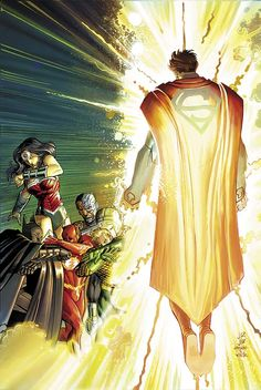 DC Sets Up June: Spoilers for SUPERMAN, JUSTICE LEAGUE, CONVERGENCE & MULTIVERSITY   Newsarama.com