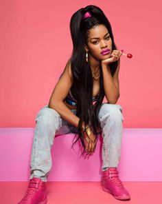 Teyana Taylor Channels the in Sporty New Reebok Campaign – Footwear News Glam Photoshoot, Photoshoot Concept, Photoshoot Themes, Teyana Taylor, Kanye West, Photographie Street Art, Photography Poses, Fashion Photography, New Reebok