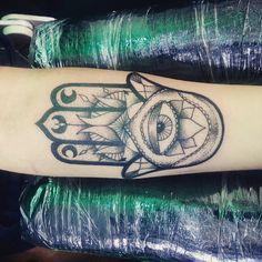 Hamsa+Tattoo