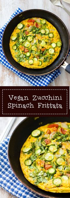 This Vegan Zucchini and Spinach Frittata is made from chickpea flour or gram flour and fruit salt. Loaded with the goodness of vegetables. Gluten free.