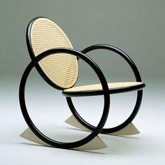 VIPP Rocking Chair_Design Verner Panton_Produced for PP Møbler_1992