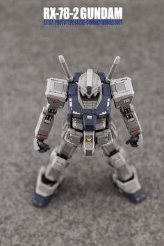 "MODELER: Jon-K MODEL TITLE: RX-78-2 Gundam ""G3 Colors"" MODIFICATION TYPE: custom color scheme KITS USED: MG 1/100 RX-78-2 Gundam Ve..."