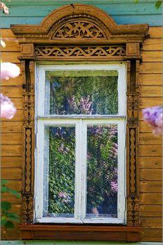 Fancy window frame