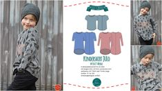 """Ebook Kindershirt """"JULO"""" by EvLi's-Needle Diy And Crafts, Clothes, Elegant, Baby, Styling Tips, Sachets, Tutorials, Outfits, Classy"""