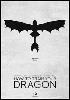 How To Train Your Dragon: HTTYD poster including Toothless Minimal Movie Posters, Minimal Poster, Film Posters, M Anime, Film D'animation, Movie Film, Dragon Trainer, Alternative Movie Posters, How To Train Your Dragon