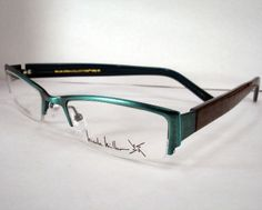 128e54c320 Nicole Miller women Ladies Eyeglass Eyewear Frames Villa Spa Blue New  Designer