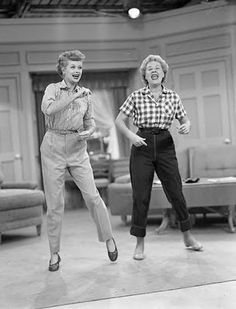 Lucy & Ethel best friends -   great comedy team!
