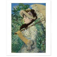 "Manet's Spring - 16"" x 20"" giclee print"