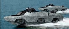 Lockheed Martin, Gibbs Join Forces to Pursue High Speed Amphibious Vehicles