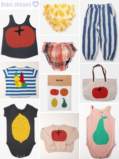 Love the Bobo choses summer collection! #vegetable #tomato #bobochoses