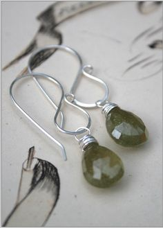 ear wires...simple and elegant