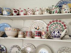 Emma Bridgewater Polka Dot Cockerel Cake Plate Archive Pieces at Collectors Day 2013