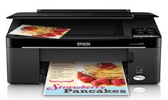 The Epson Stylus has a large flatbed scanner you can utilize to scan flat things and pages from bound books, something you can't make with a page-fed Windows Xp, Mac Os, Linux, Portable Printer, Printer Driver, Windows Server, Stylus, Epson, Software