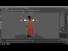 Using Maya's Blend Shapes for a Breeze Effect - Computer Graphics & Digital Art Community for Artist: Job, Tutorial, Art, Concept Art, Portfolio