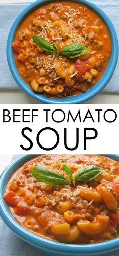 beef tomato soup rec