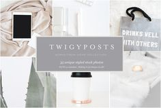 Stock Photos | Works from Home by TwigyPosts on @creativemarket