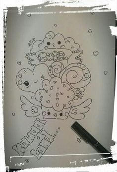 Kawaai doodle to rest my mind