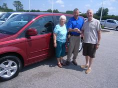 Wednesday August 29, Joyce and Ciro from Rocky Mt NC are picking up their 2011 Dodge Grand Caravan. Thank you Joyce and Ciro for your business. Their salesman is Freddie Smith