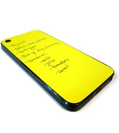 I must have this!! So #clever - Sticky notes for the back of your iPhone #lifehack